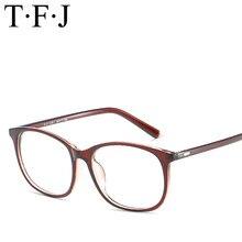 f57a4c5dba Retro gafas mujer hombre gafas anteojos PC Full Rim marco con estilo gafas  marco claro lente gafas de lectura 5 color