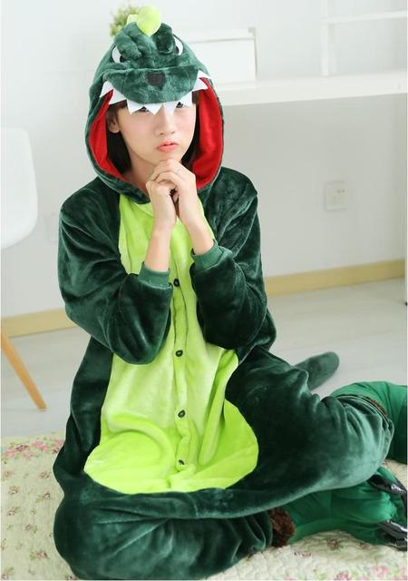 Nueva Adulto Unisex Pijama de Franela Pijamas Animal Trajes Cosplay Adultos Prendas de vestir de Invierno Lindo Animal de la Historieta del Pijama