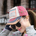 New 2015 spring summer woman tide hip hop baseball cap wear Denim Adjustable women casual hat peaked cap 1lot=5pcs