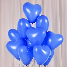 50pcs/lot 10inch 2.2g  heart balloons party decoration birthday balloon wedding anniversary supplies