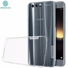 Genuine NILLKIN Huawei Honor 9 Case 5.15 inch Nature Clear TPU Transparent Soft Back Cover Case For Huawei Honor 9 Phone Bag