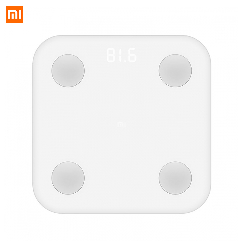 Original Xiaomi Mi Smart Fat Scale 2 Body Composition Monitor Bluetooth 4 0 Xiaomi Mijia Weight