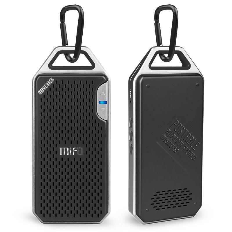 MIFA F4 Wireless Bluetooth Speaker With Mic Micro SD Hook portable bluetooth speaker Aluminum Alloy Housing