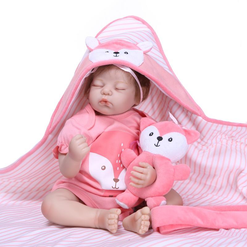 50CM NPK Silicone Reborn Super Baby Lifelike Toddler Baby Bonecas Kid Doll Bebes Reborn Brinquedos Reborn Toys For Kids Gifts