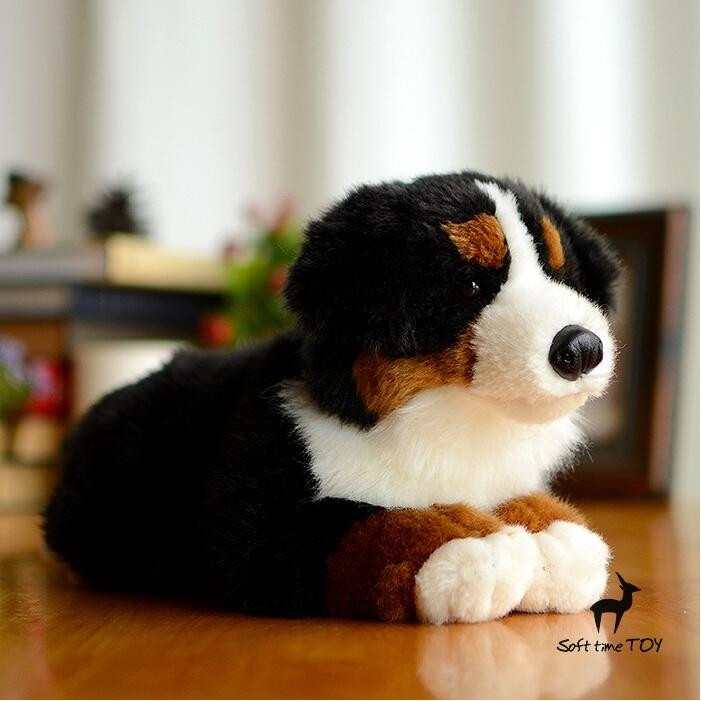 Children's Toys Pillow Simulation Bernese Mountain Dogs Doll Plush Big Toy Dolls Gifts stuffed animal big toy cute plush bernese mountain dog doll toys for children gift pillow