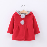 Baby Girl Boy Clothes Girls Hooded Coat Spring And Autumn New Style Children S Cotton Rabbit