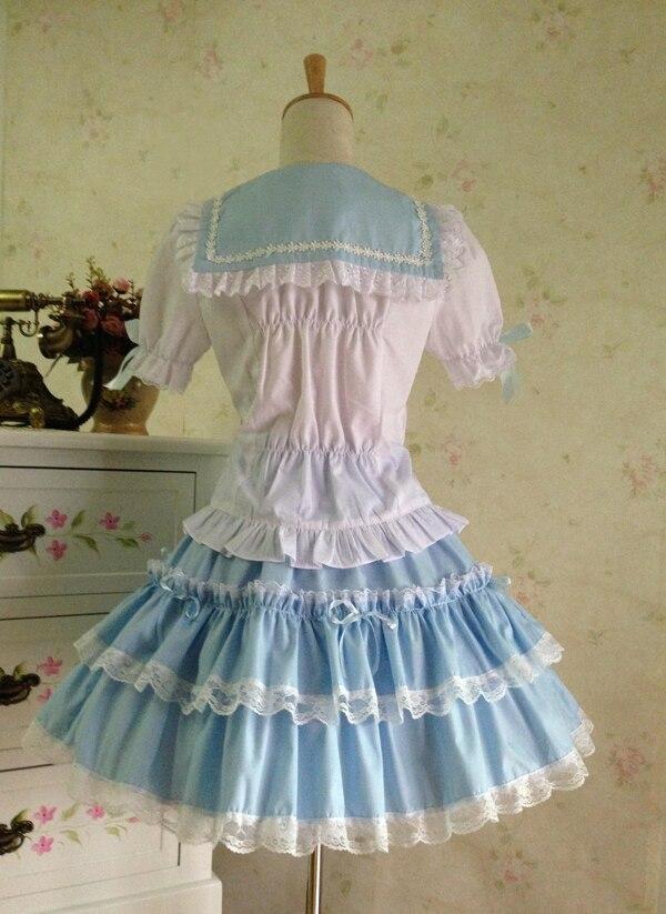 Poletna obleka princesa cosplay kostum dekle lolita obleka - Ženska oblačila - Fotografija 3
