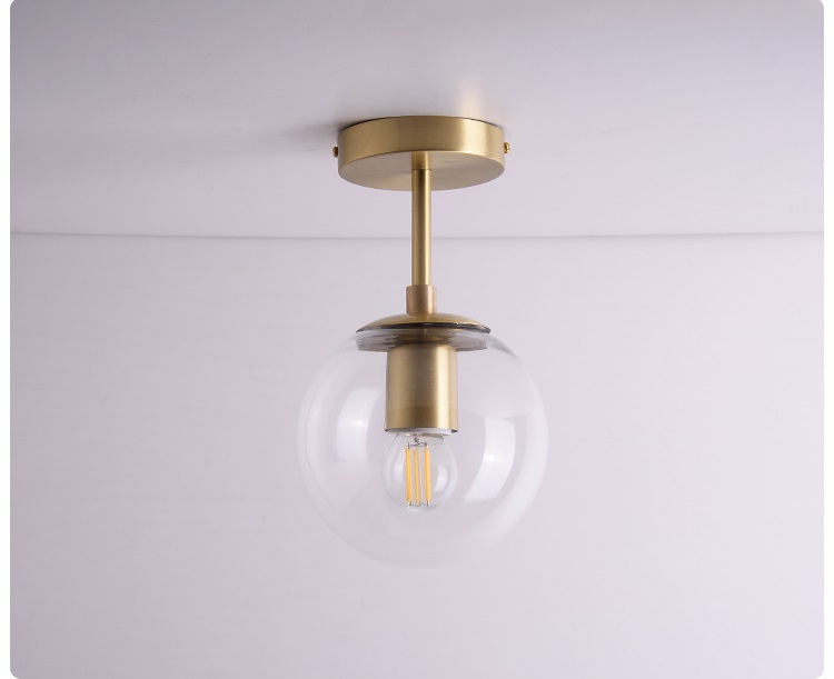 HTB1wqCAaPzuK1RjSspeq6ziHVXa8 Vintage Ceiling Lights | Antique Brass Ceiling Lights | Nordic Glass Ball LED Ceiling Lights Balcony Porch Aisle Bedroom Copper Retro Vintage Ceiling Lamps Plafonnier Lighting 001