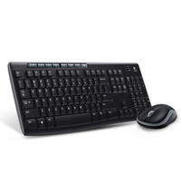 100% Original Logitech MK270 Combo Set Wireless K270 Keyboard Wireless M185 Mouse/Mice 2.4G USB Receiver For PC Laptop 19Jul12