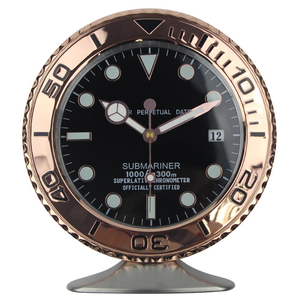 2019 Nueva llegada Reloj Sape Reloj de mesa Reloj de pared de metal - Decoración del hogar - foto 5