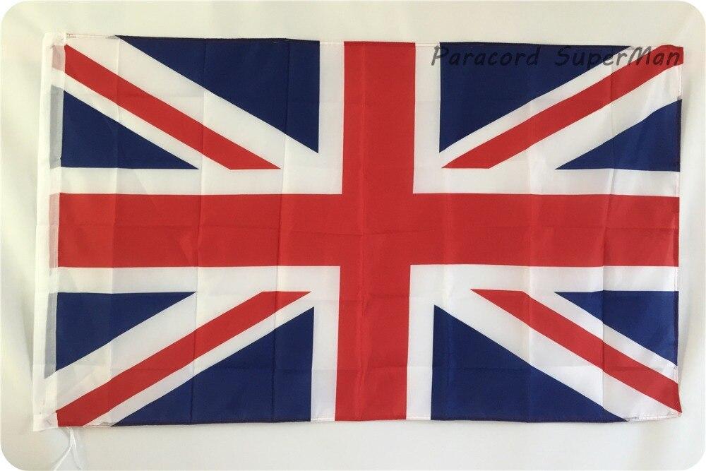 LIIDU JACK SUUR LIPP SUURBRITANNIA-BRITI Poly Banner Flag 5 X 3FT - Meeskonnasport - Foto 2