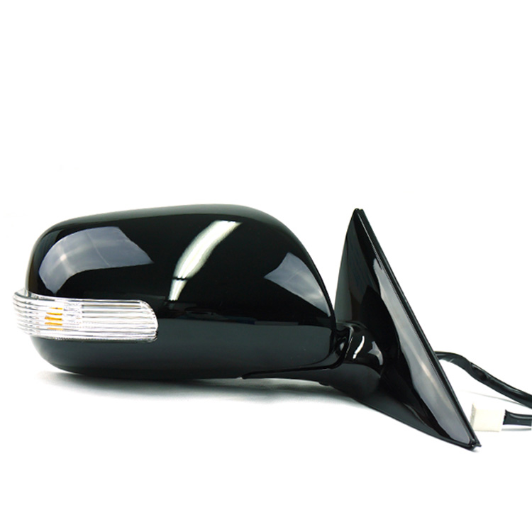 Automatic Folding Power Heated Led Turn Signal L Rh Side Mirror For