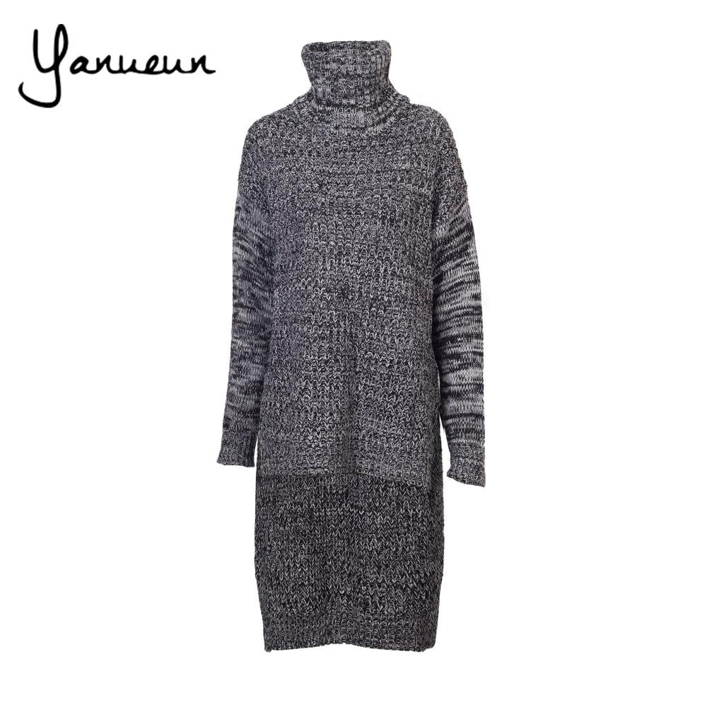 Aliexpress.com : Buy Yanueun Korean Fashion Women Back Long ...