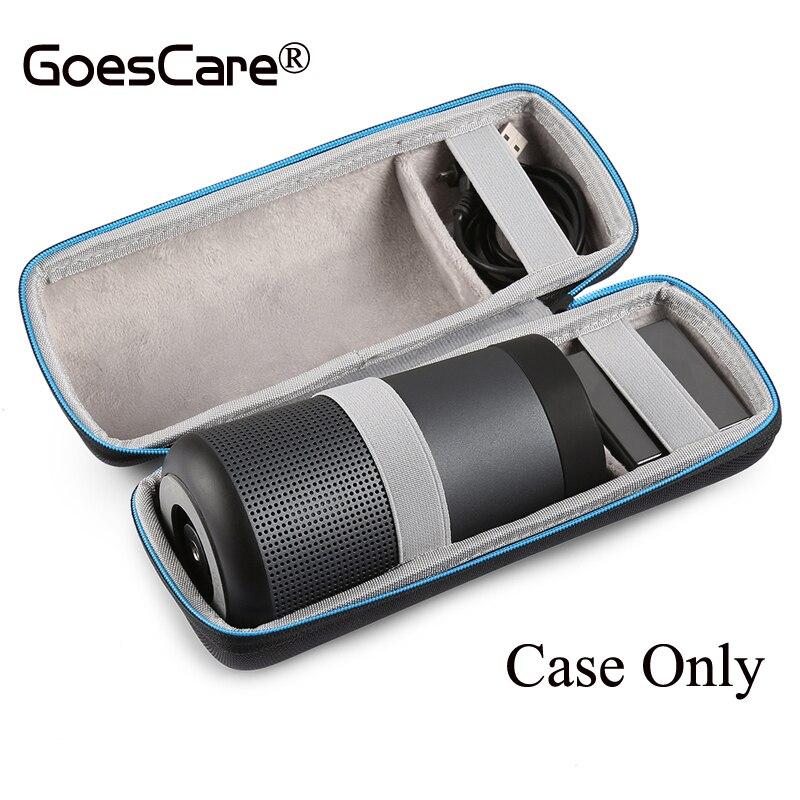 bilder für Für Bose Soundlink Drehen Fall EVA Reise Lagerung Tragetasche Box Abdeckung Für Soundlink Drehen + Plus Extra Raum Für Plug & Kabel