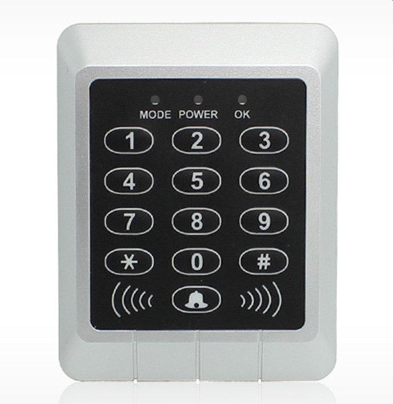 2000 User ID Card & Password Single Door Access Control user