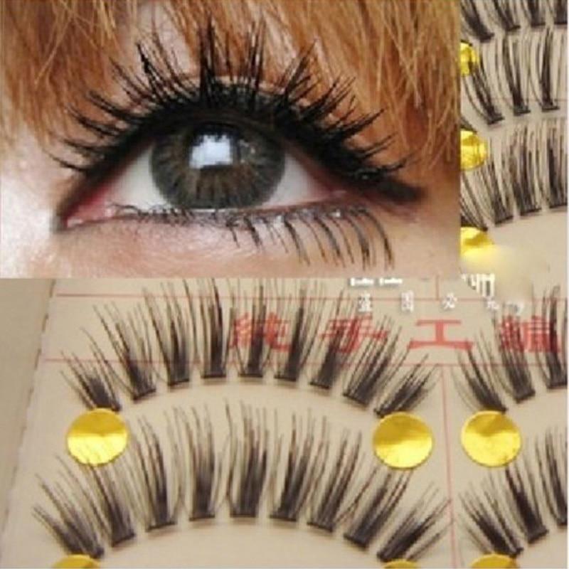 Fake Eye Lashes Natural False Eyelashes Extensions Tools Makeup Eyelashes Volume Individual Lashes Make Up For Professionals