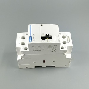 Image 2 - TOCT1 2P 63A 220V/230V 50/60HZ Din rail Household ac Modular contactor with Manual Control Switch 2NO or 1NO 1NC or 2NC