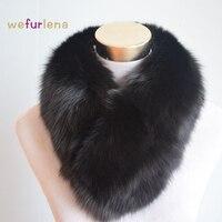 Women Scarves Solid Fashion Fox Fur For Women Natural Shawl Luxury Scarf Female Real Fox Fur