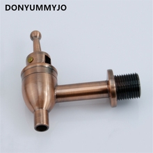 Barrel-Drinking-Fountain-Tap Sparkling-Wine-Faucet Glass-Bottle Beer Copper-Body 1pc