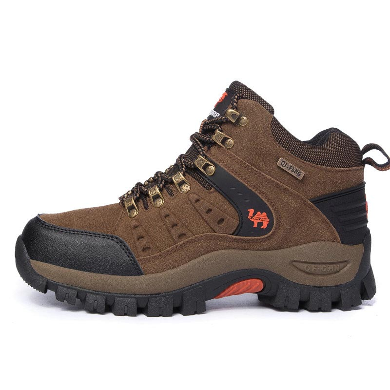 Hiking Shoes Man Women Waterproof Mountain Climbing Trekking Shoes Professional Breathable Outdoor Sneaker For Camping Travel