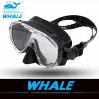 Neue Berufs Tauchen Maske ausrüstung Schnorchel Brille Set Silikon Schwimmen Angeln Tauchen brille Pool Ausrüstung