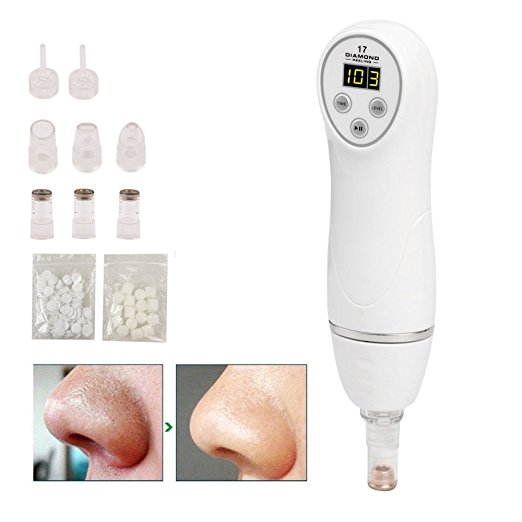 Anti-aging Diamond Dermabrasion 6 Tips Peeling Machine Facial Skin Care Massager Beauty Device Blackhead Scars Acne Mark removal professional skin diamond dermabrasion beauty machine for blackhead deadskin pigment acne marks removal lifting tightening