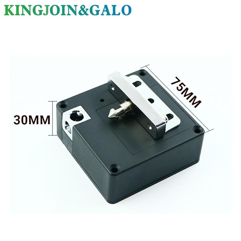 Electronic Door Lock, Hidden Invisible RFID Electronic Cabinet Locker Door Lock Wardrobe Lock Private RFID Drawer Lock
