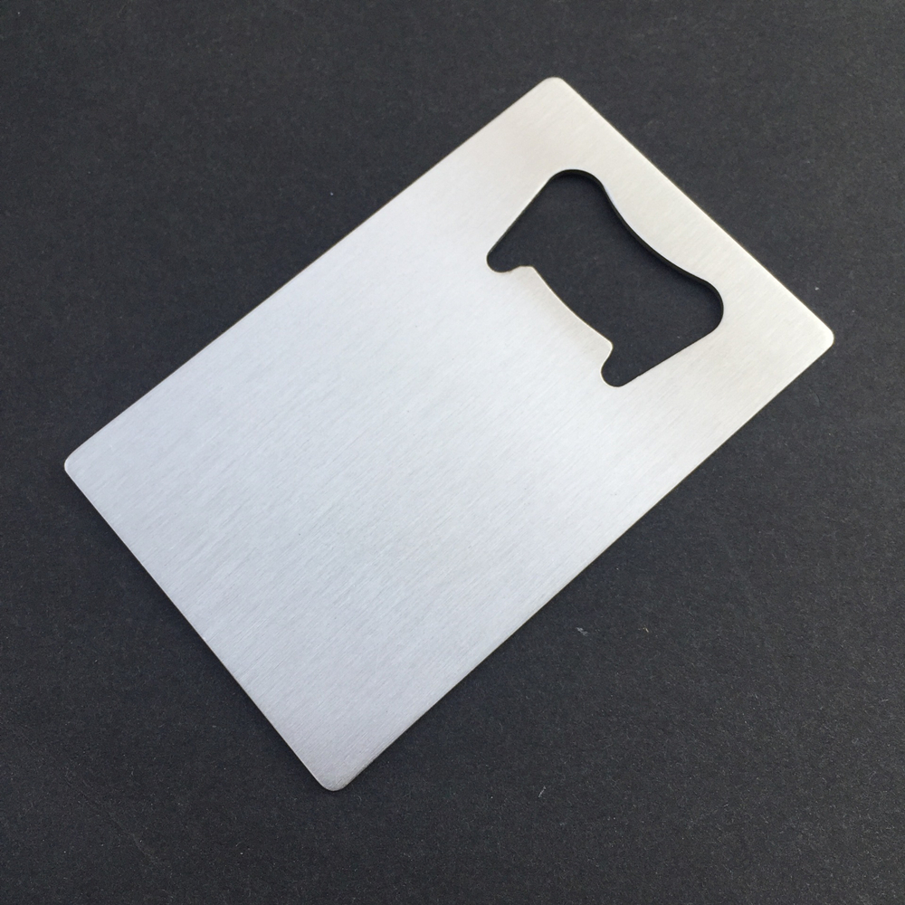 100x Personalized Credit Card Bottle Opener Wedding Favor Custom ...