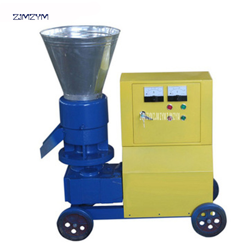 MKL295 High Quality feed pelletizer machine home use animal feed pellet machine 380v/50 Hz Granulator 180-260kg/h production