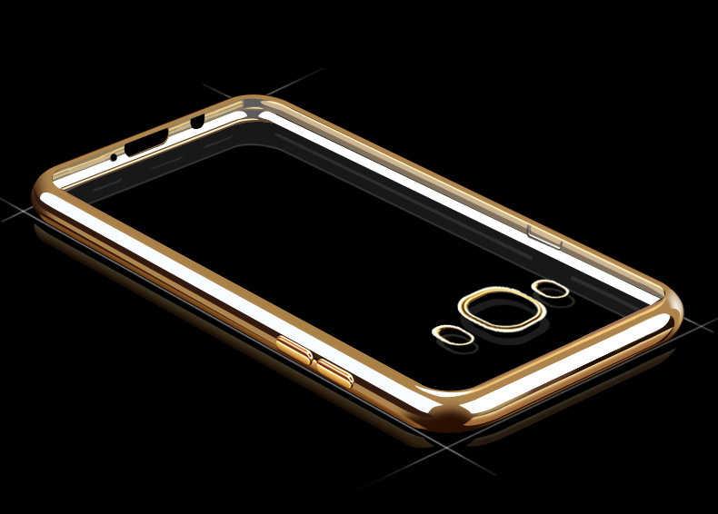 サムスンギャラクシー J5 J7 2016 J 5 7 デュオ J510FN J710FN 携帯電話ケース透明バックソフト TPU シリコン超薄型