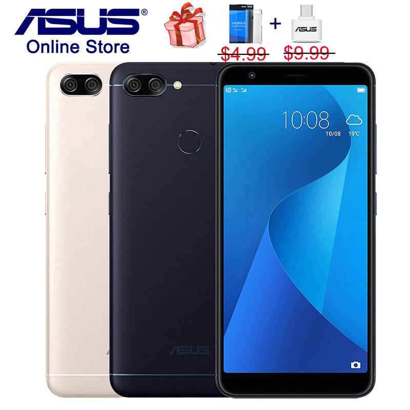 ASUS ZenFone 4S Max Plus M1 ZB570TL X018DC 4G LTE Mobile Phones 5 7inch HD Full