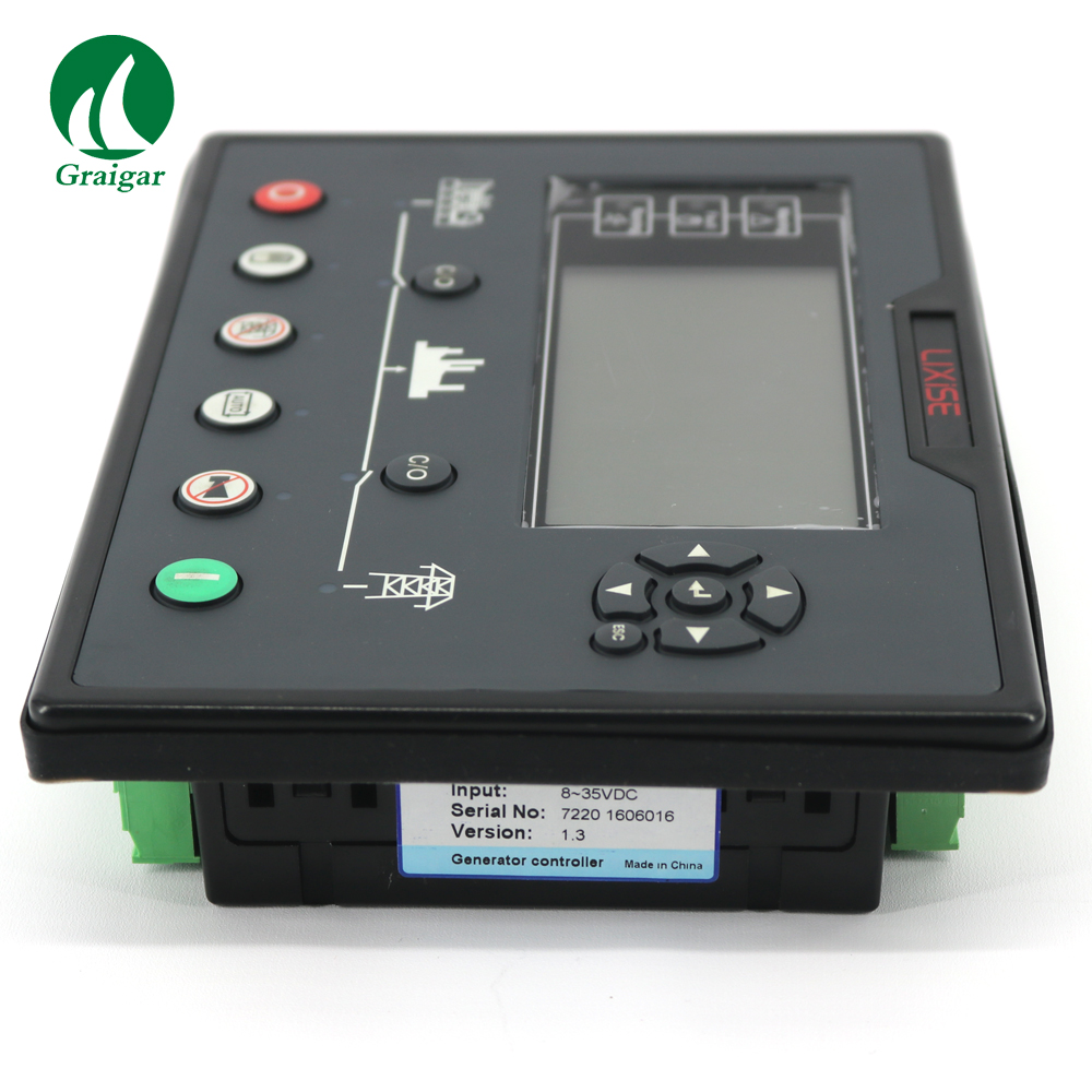 New Diesel Generator Controller LXC7220 Replacement of DSE7120/DSE7220/DSE7320 using 32-bit ARM MicrocontrollerNew Diesel Generator Controller LXC7220 Replacement of DSE7120/DSE7220/DSE7320 using 32-bit ARM Microcontroller