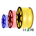 Hot sale Waterproof Led Strip Light 5050 AC220V 60Leds/M Fiexble Light Led Ribbon Tape Home Decoration Lamp Plus EU Plug