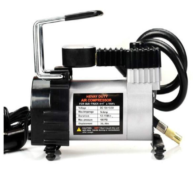 Compresseur d'air 12 v compresseur d'air voiture gonfleur de pneus compresseur d'air avec manomètre livraison gratuite