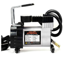 air compressor 12v car tyre inflator compresor aire pump WITH Pressure gauge FREE SHIPPING