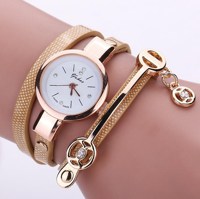 Luxury Brand Leather Quartz Watch Women Ladies Casual Fashion Bracelet Wrist Watch Wristwatches Clock Relogio Feminino Female leather fashion brand bracelet watches women ladies casual quartz watch hollow wrist watch wristwatch clock relogio feminino