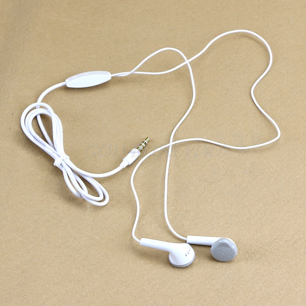 1 PC New 3.5mm Earphone For Samsung S5830 S5630 Galaxy Tab I9100