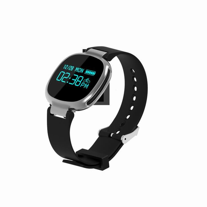 Smart Wristband E08 Smart Band Bluetooth 4.0 Heart Rate Monitor Swimming Tracker IP67 Waterproof Fitness Tracker For IOS Android