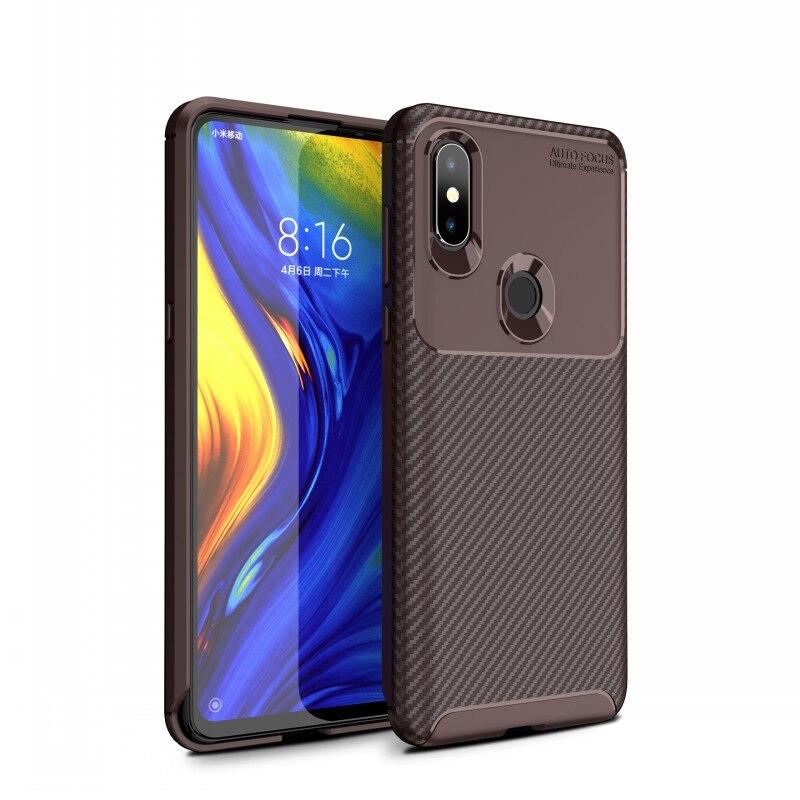 Case For Xiaomi Mi 9 Mi 8 Pro Mi 8SE Mi 8 Lite Cover Carbon Fiber Silicone TPU Case For Xiaomi Pocophone F1 Poco F1 Cover Fundas (12)