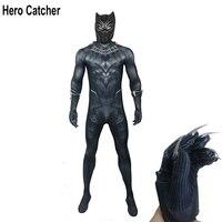 Герой Catcher высокое качество Черная пантера Косплей Костюм с аксессуарами