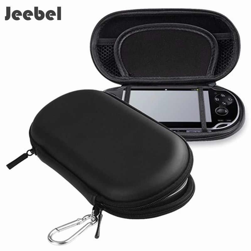 Jeebel For PSP 3000 Case Hrader EVA Bag Protective Storage Case Cover Holder Funda Game Console For PSP 1000 2000 3000 PSV Case