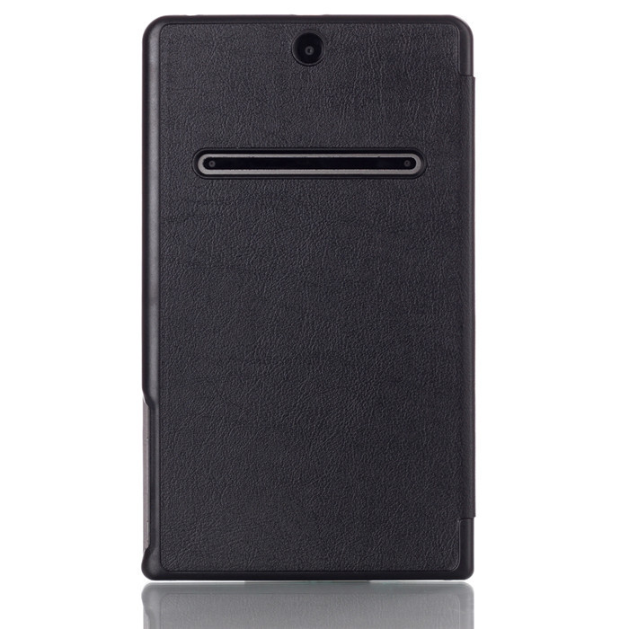 50Pcs Original Wake Up and Sleep Leather Cover Stand Case for Dell Venue 8 7000 7840 8.4