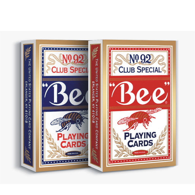 NO.92 BEE Playing Cards Original Poker Cards for Magician Collection Card Game