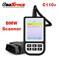 2017 Новый OBD2 Диагностический Сканер C110 + для BMW e46 Двигатель Ручной Код читатель для BMW e90 e39 ABS SRS Air bag Full Scan tool