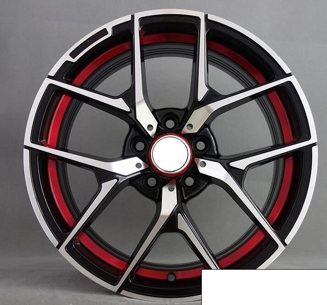 Red Lip 18 Inch 5x112 Et45 Car Alloy Wheel Rim Fit For Mercedes W204