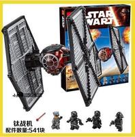 New 562pcs Lepin 05005 Star Special Forces TIE Fighter Figure Toys Building Blocks Set Blocks Kids