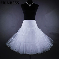 2015 White Promotion Free Shipping Short Skirt Boot Cut Solid Bridal Wedding Petticoat Underskirt For Dress