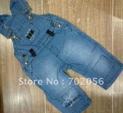1ff2739d3 Baby Overalls Girls denim Jumper Dress Jeans toddler Boys pants Skirts  20pc/lot #1945