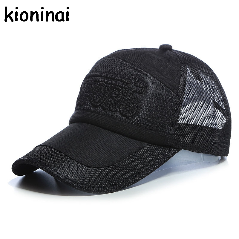 Sport Quick-drying Snapback Golf Mesh Cap 5 Colors Outdoor Shade Hat Long Visor Baseball Cap Bone Gorras Casquette Adjustable ming dynasty emperor s hat imitate earthed emperor wanli gold mesh hat groom wedding hair tiaras for men 3 colors