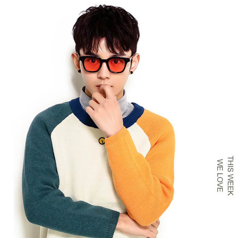7e6e11d31a9 Fashion Colorful Korean Mini Sunglasses Women Men Slim New Brand Sun  Glasses For Men Round Sunglasses